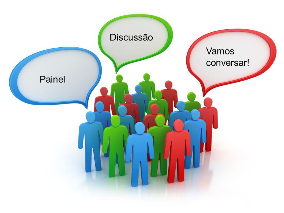 Discussão Vamos conversar! Painel