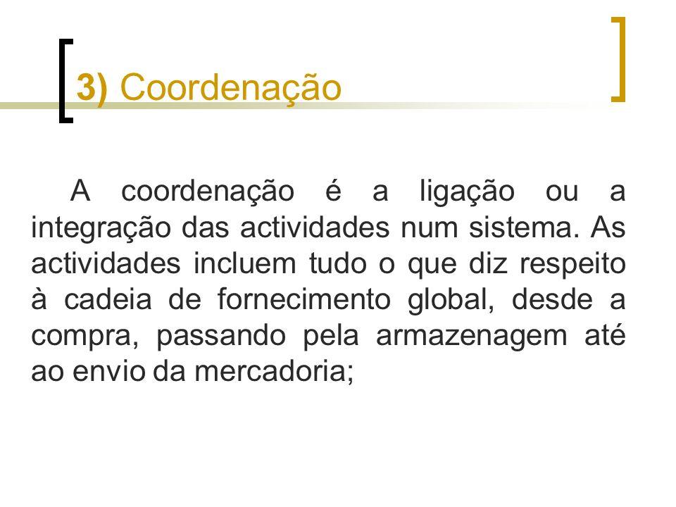 3) Coordenação
