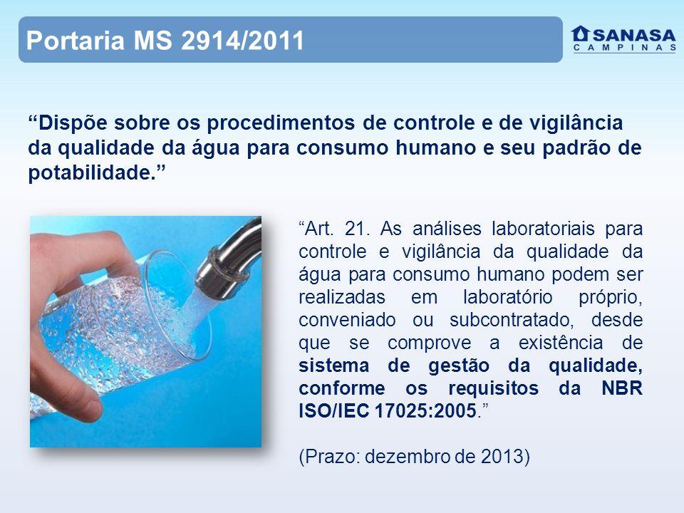 Portaria MS 2914/2011