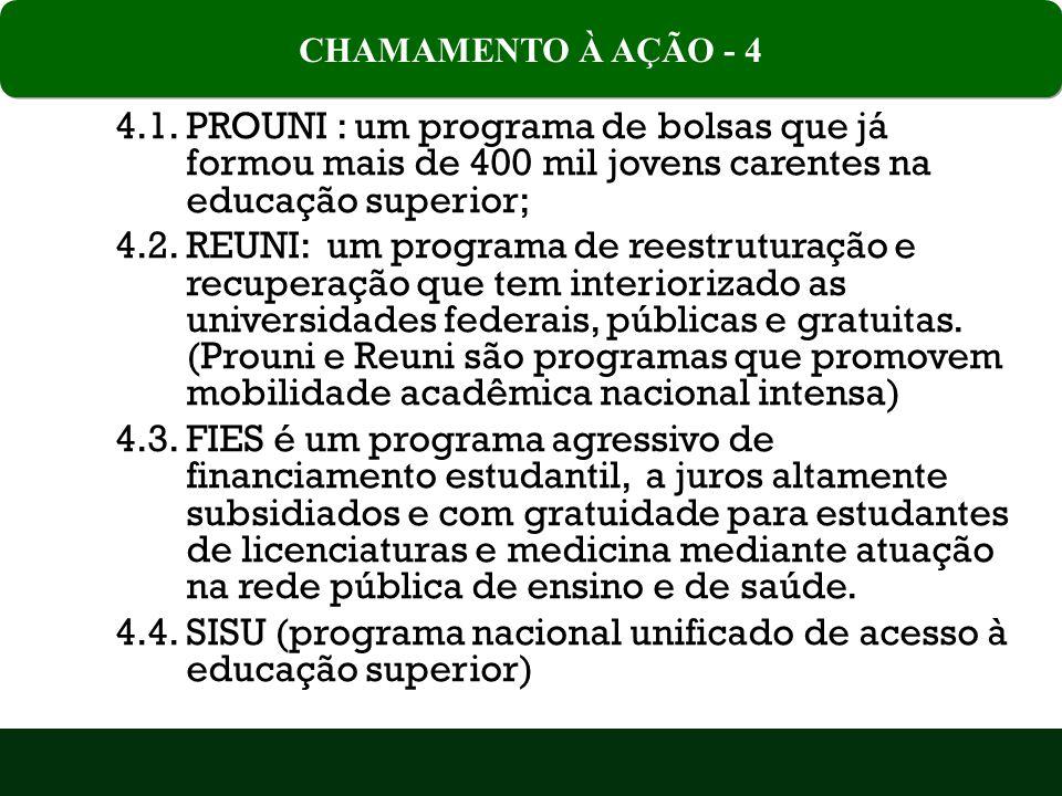 4.4. SISU (programa nacional unificado de acesso à educação superior)
