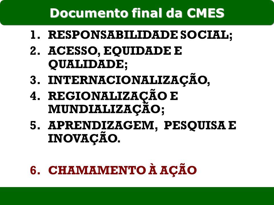 Documento final da CMES