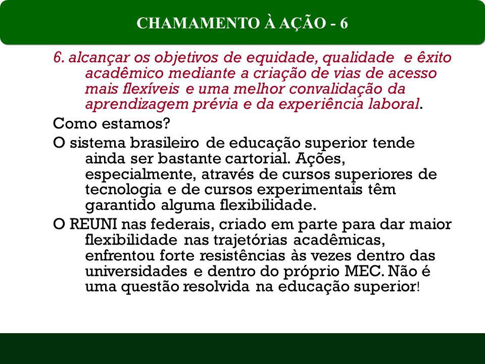 CHAMAMENTO À AÇÃO - 6