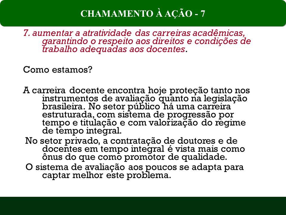 CHAMAMENTO À AÇÃO - 7