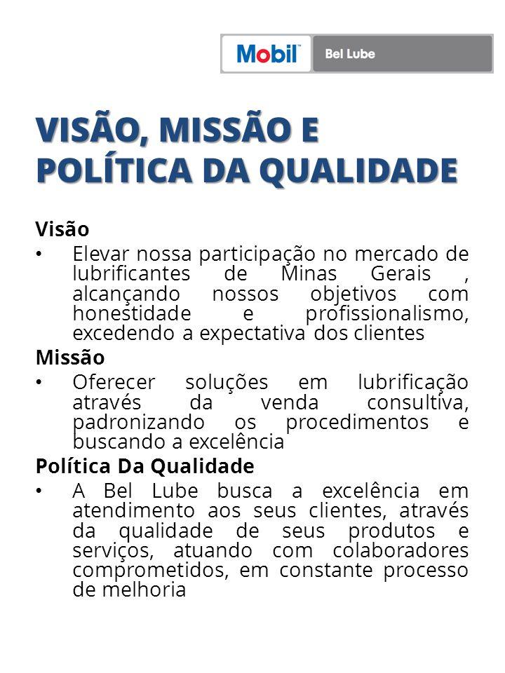 VISÃO, MISSÃO E POLÍTICA DA QUALIDADE