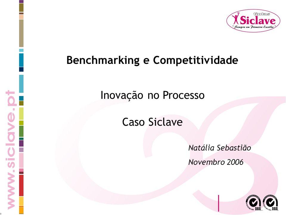 Benchmarking e Competitividade