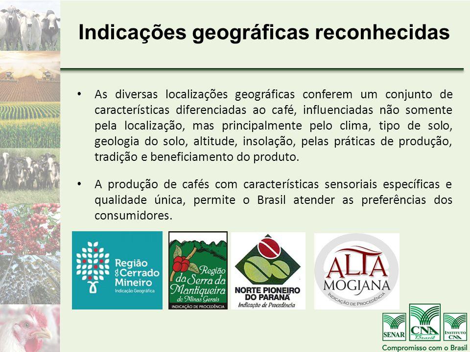 Indicações geográficas reconhecidas