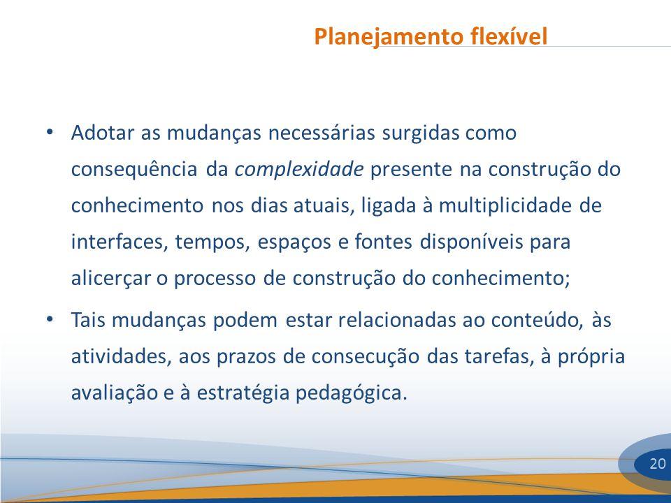 Planejamento flexível