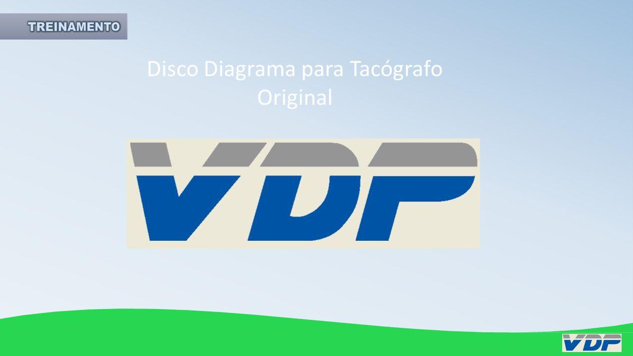 Discos Diagrama para Tacógrafo VDP