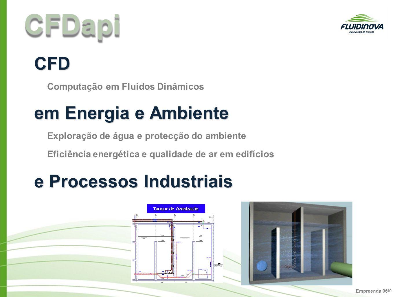 CFDapi CFD em Energia e Ambiente e Processos Industriais