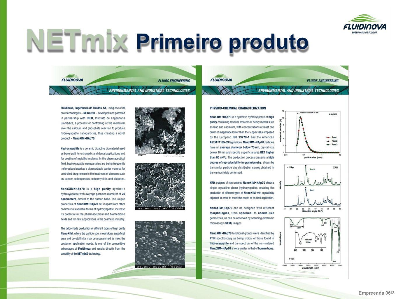NETmix Primeiro produto