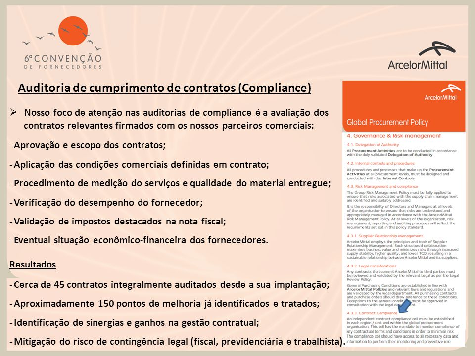 Auditoria de cumprimento de contratos (Compliance)