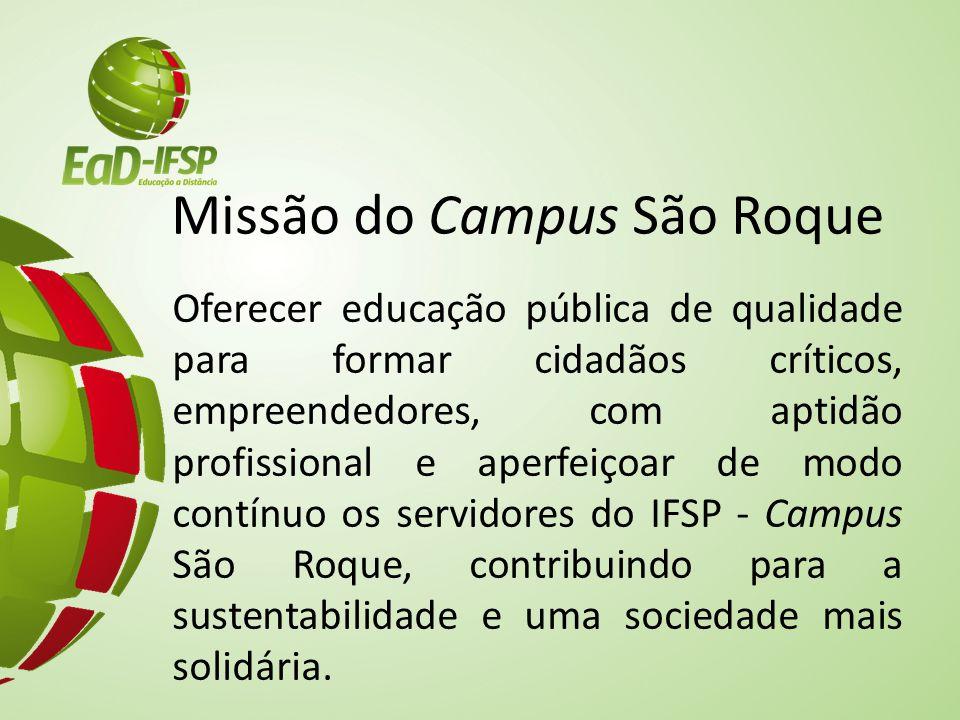 Missão do Campus São Roque