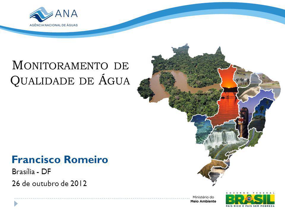 Monitoramento de Qualidade de Água