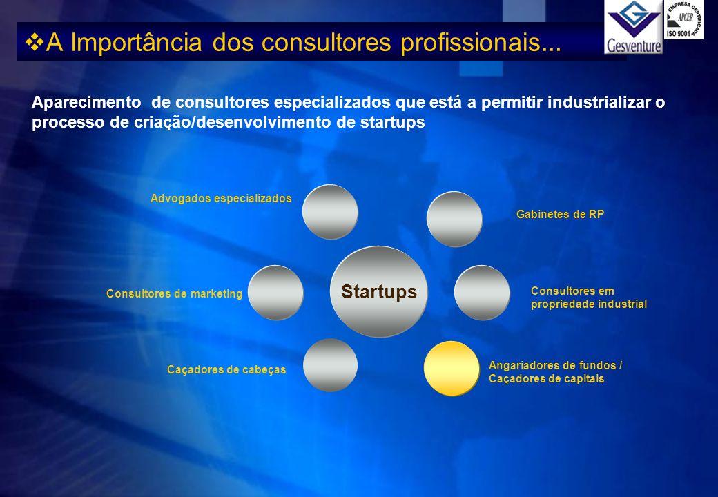 A Importância dos consultores profissionais...