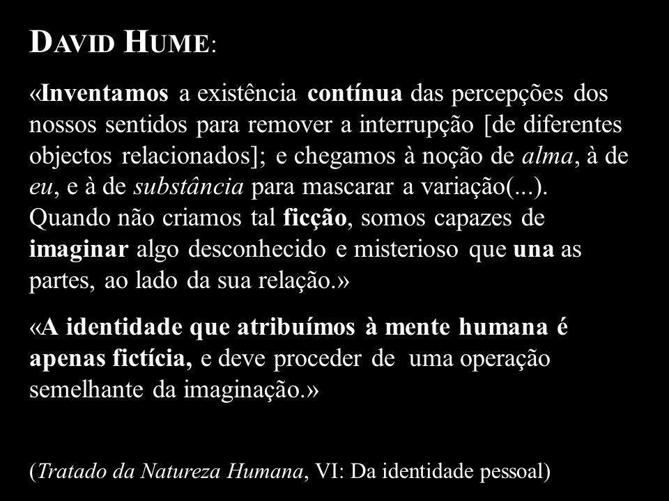 DAVID HUME: