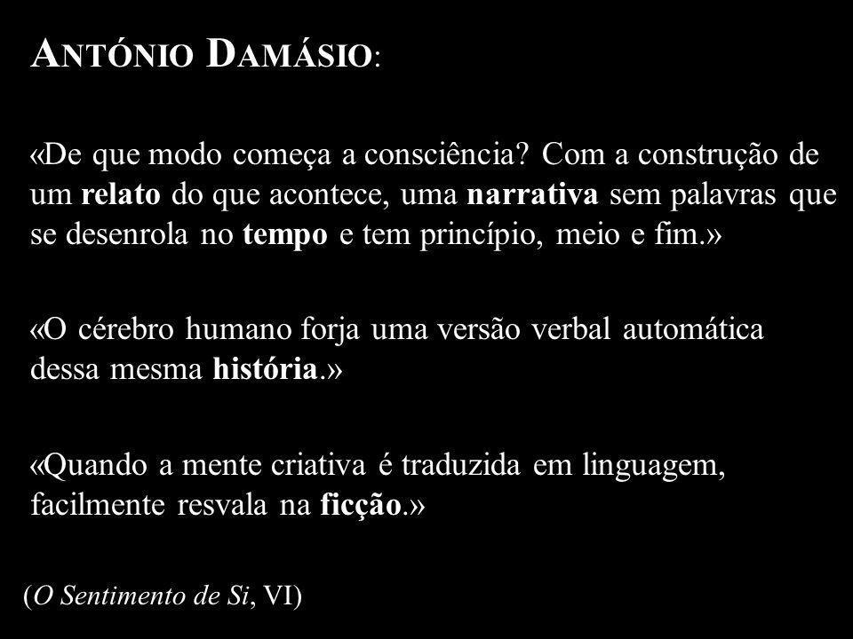 ANTÓNIO DAMÁSIO: