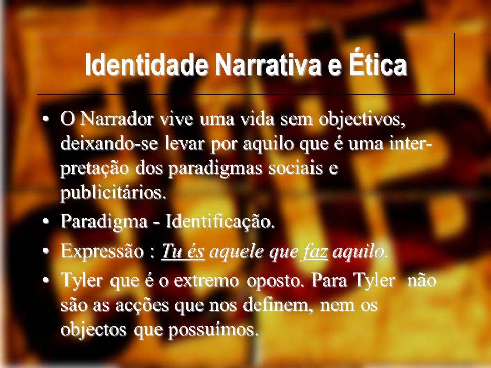 Identidade Narrativa e Ética