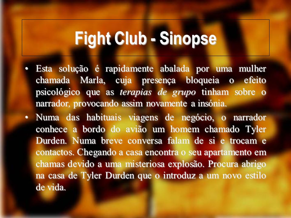 Fight Club - Sinopse