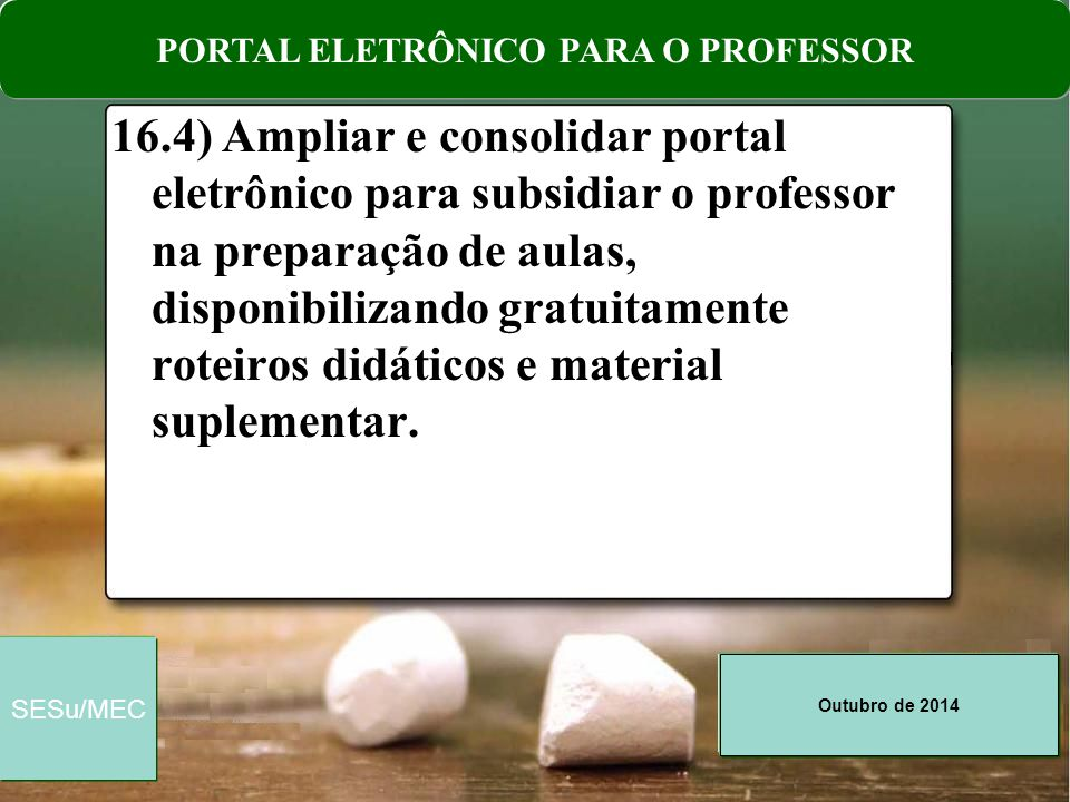PORTAL ELETRÔNICO PARA O PROFESSOR