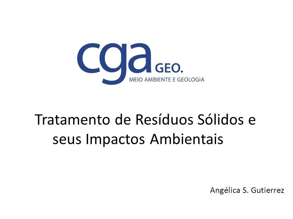 Tratamento de Resíduos Sólidos e seus Impactos Ambientais