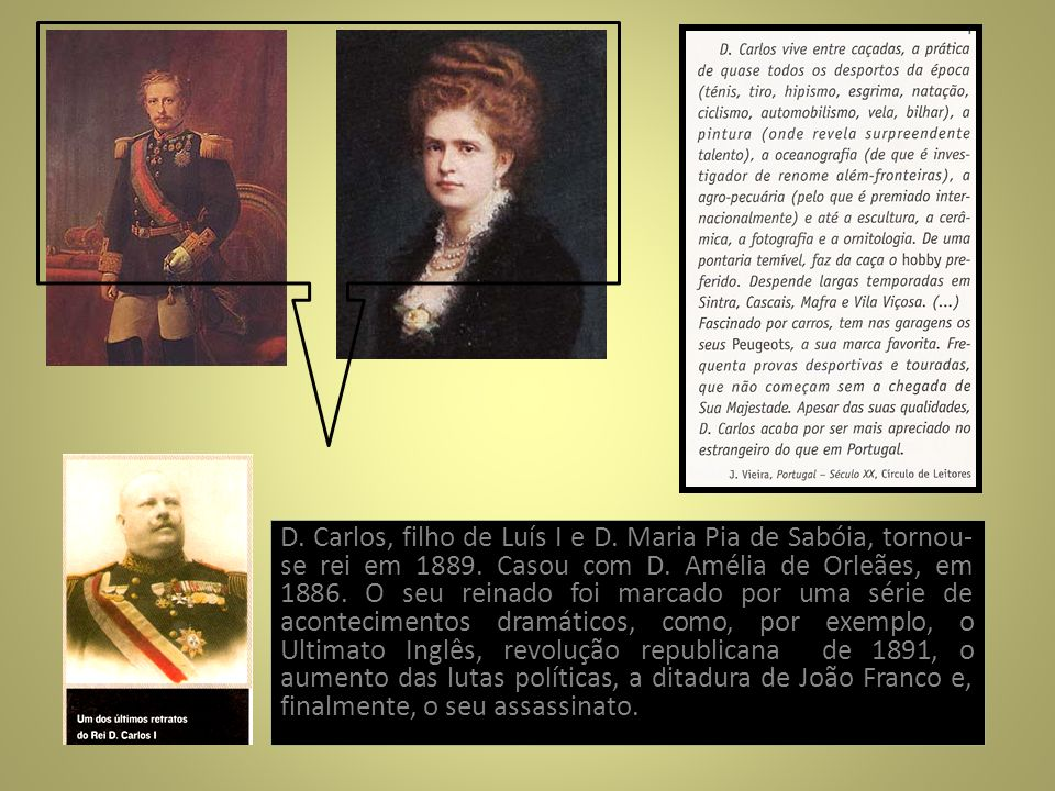 D. Carlos, filho de Luís I e D