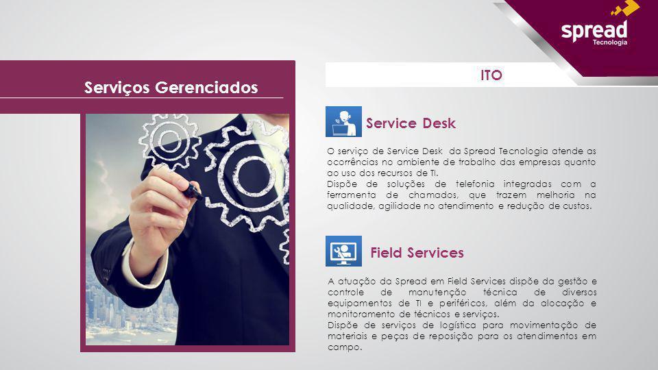 Serviços Gerenciados ITO Service Desk Field Services