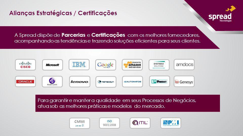 Alianças Estratégicas / Certificações