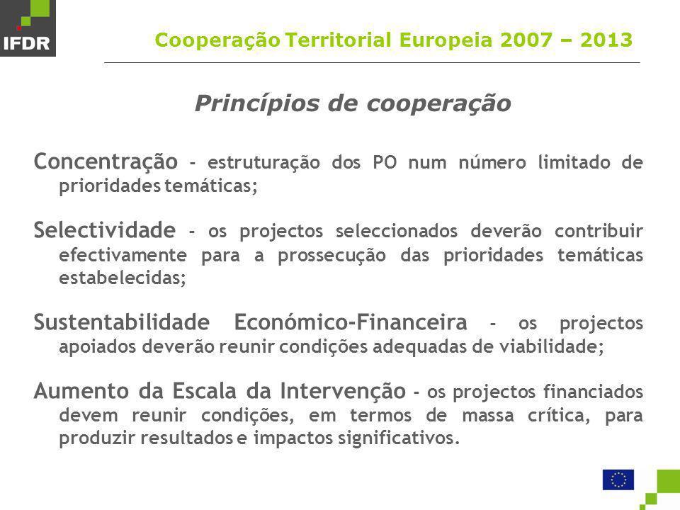 Princípios de cooperação