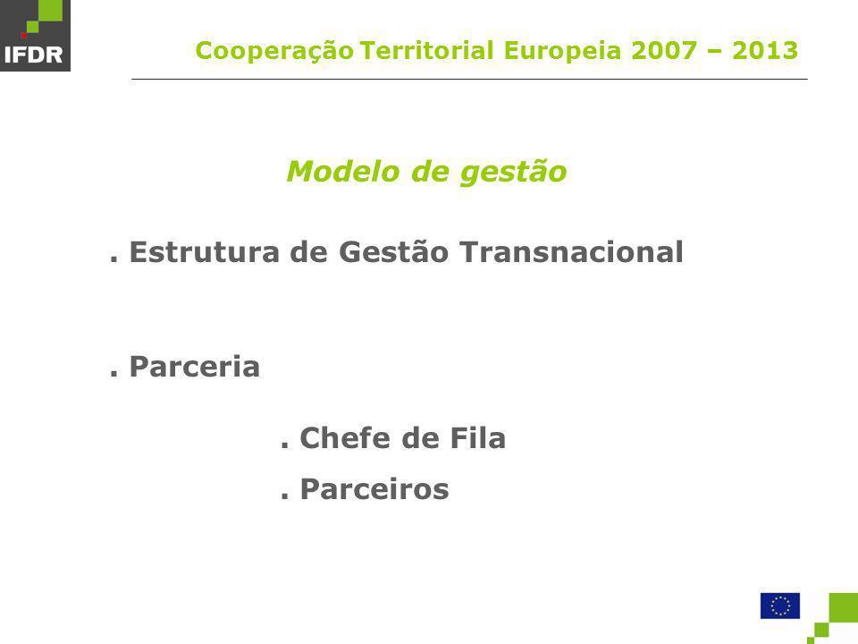 . Estrutura de Gestão Transnacional