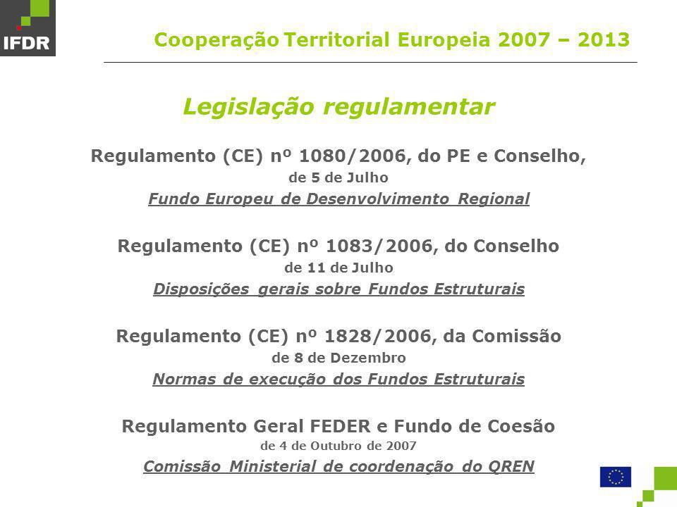 Legislação regulamentar