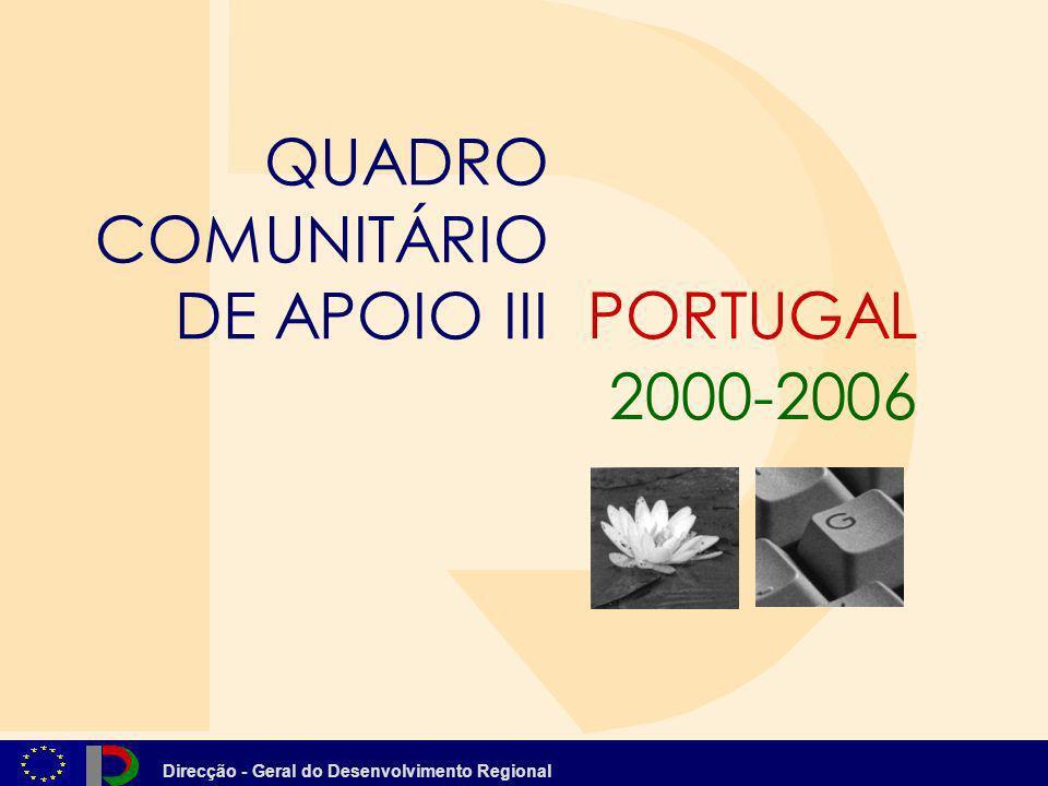 QUADRO COMUNITÁRIO DE APOIO III PORTUGAL 2000-2006