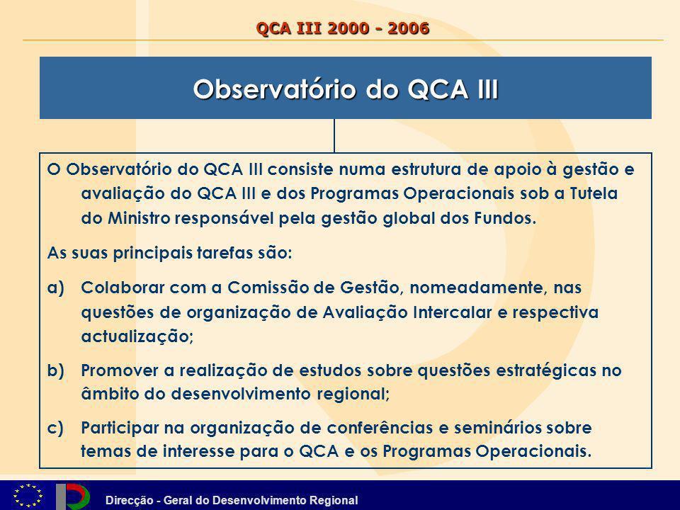 Observatório do QCA III