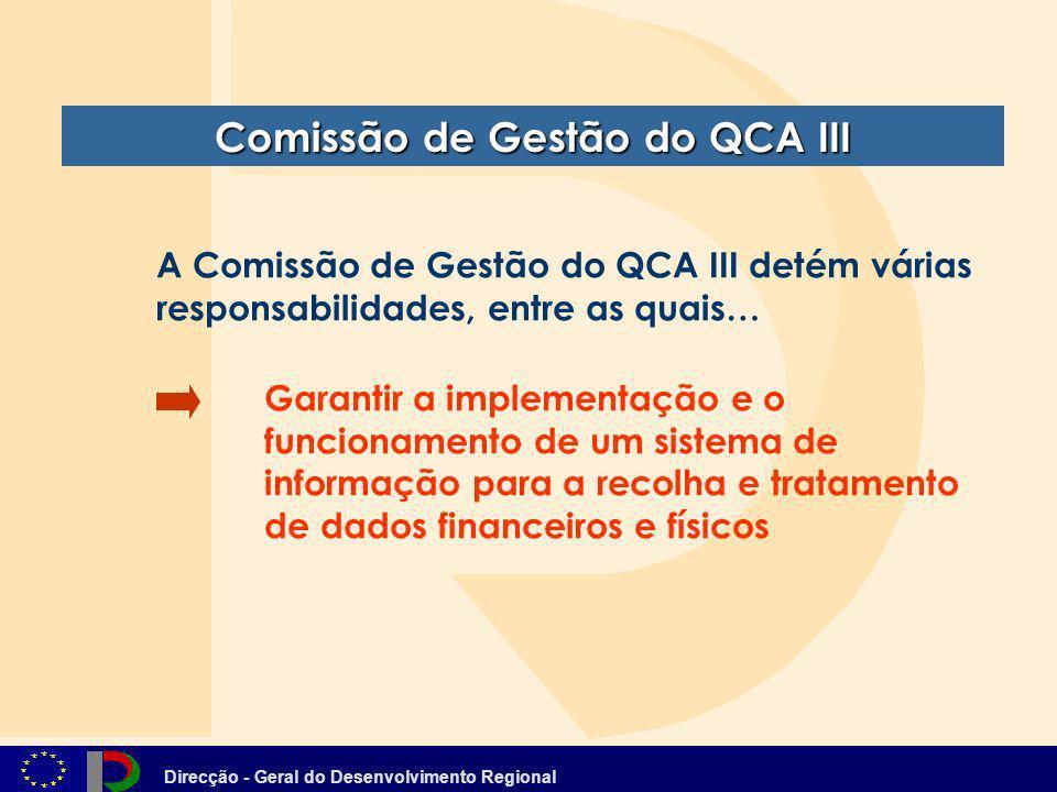 Comissão de Gestão do QCA III