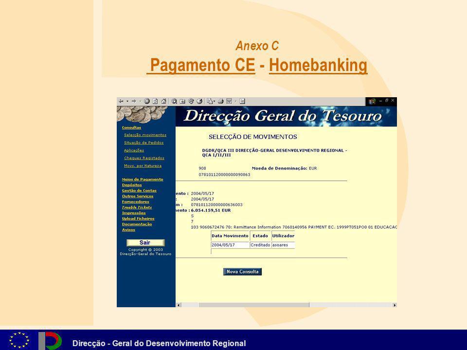 Anexo C Pagamento CE - Homebanking