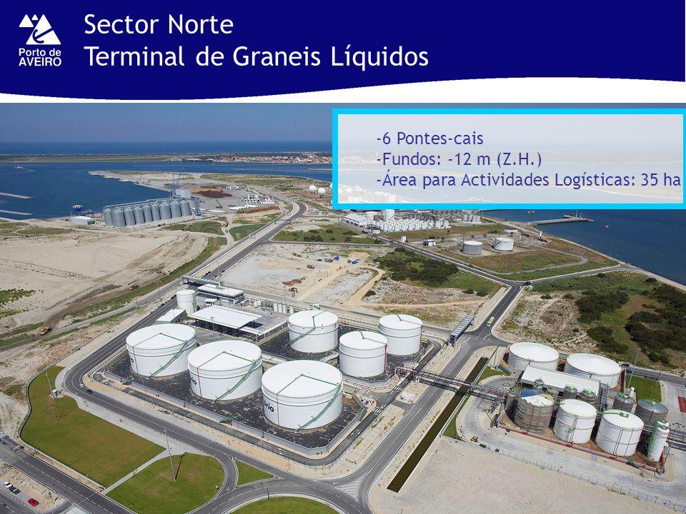 Sector Norte Terminal de Graneis Líquidos