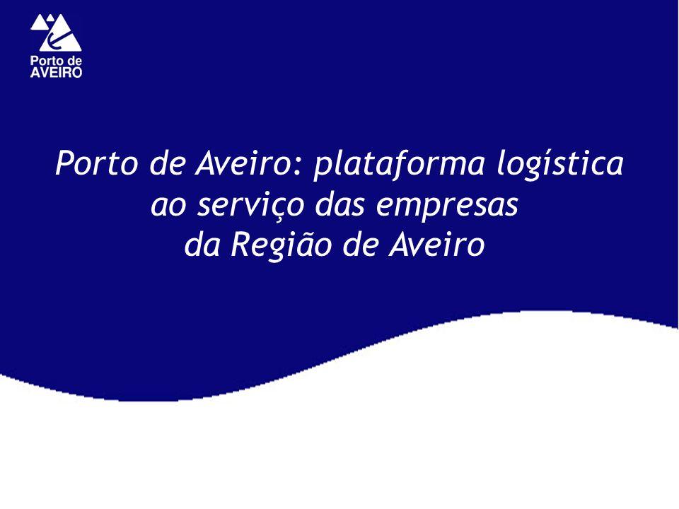 Porto de Aveiro: plataforma logística ao serviço das empresas