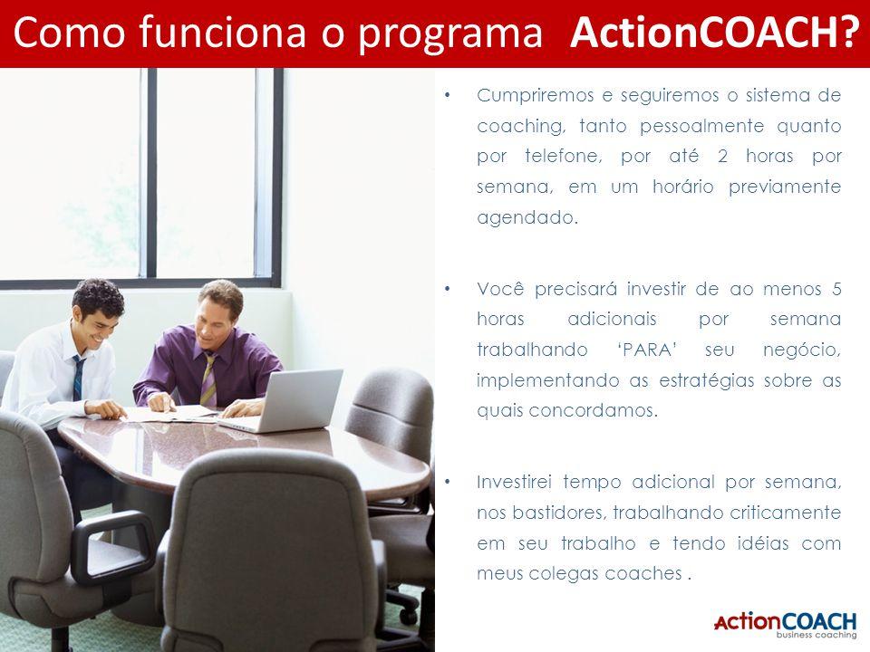 Como funciona o programa ActionCOACH