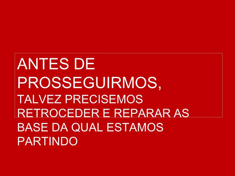 ANTES DE PROSSEGUIRMOS,