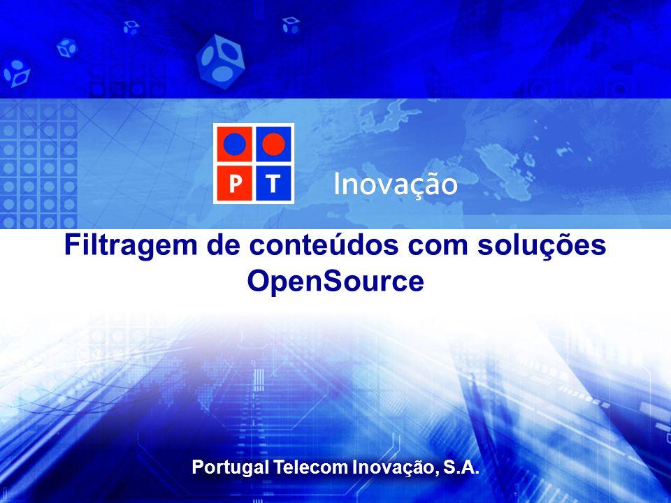 Filtragem de conteúdos com soluções OpenSource