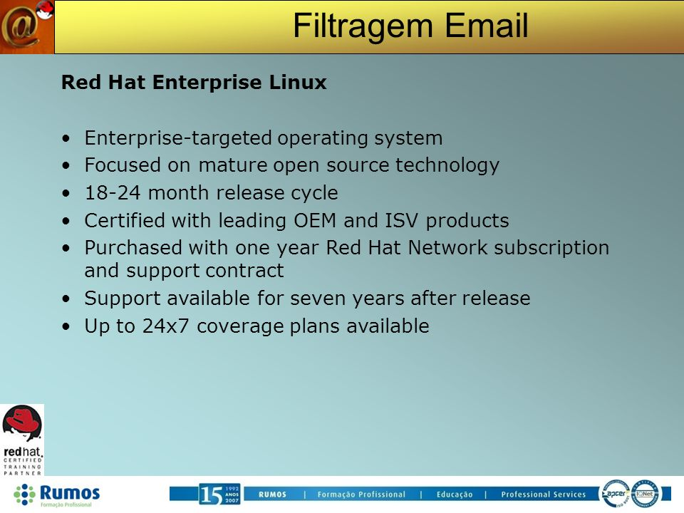 Red Hat Enterprise Linux Enterprise-targeted operating system