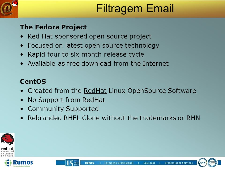Red Hat sponsored open source project