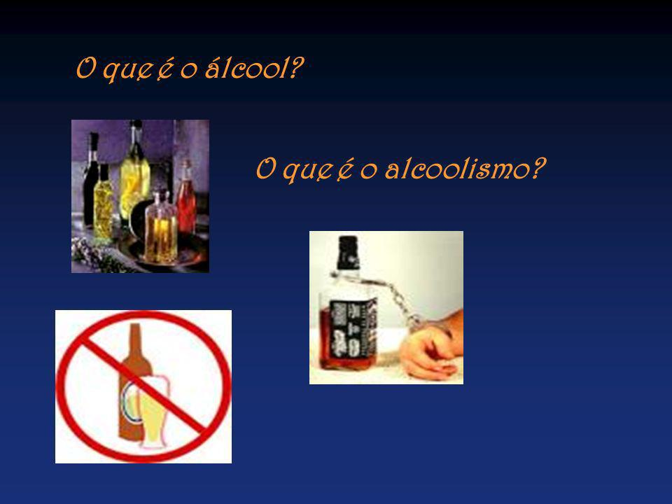 O que é o álcool O que é o alcoolismo