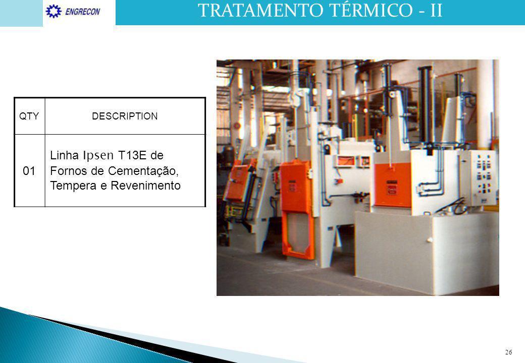 TRATAMENTO TÉRMICO - II