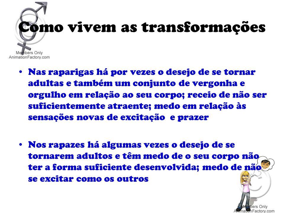 Como vivem as transformações