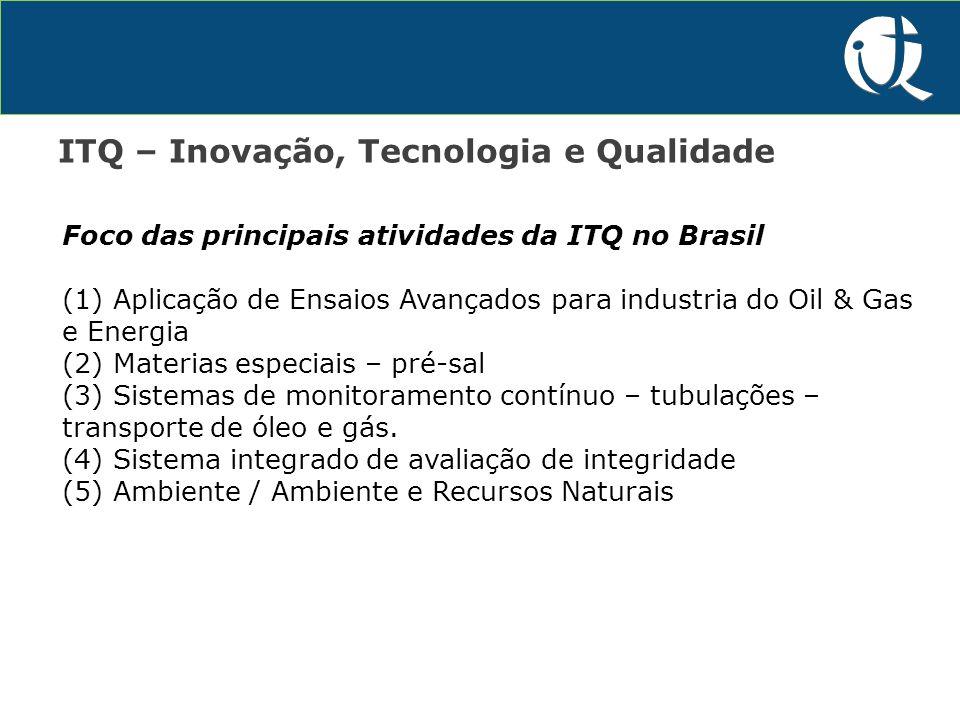 P&D&I ITQ – Inovação, Tecnologia e Qualidade