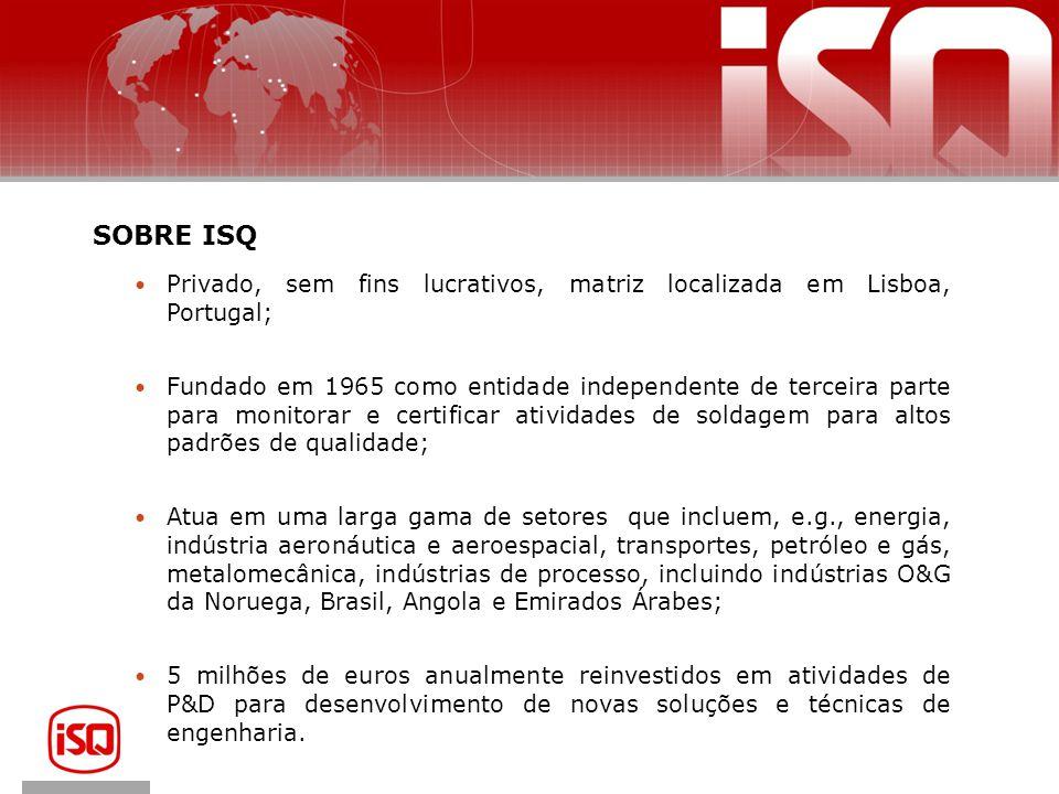 SOBRE ISQ Privado, sem fins lucrativos, matriz localizada em Lisboa, Portugal;