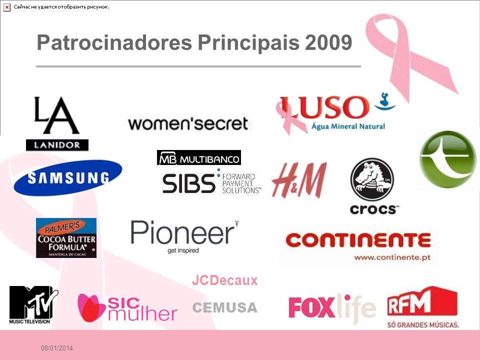 Patrocinadores Principais 2009
