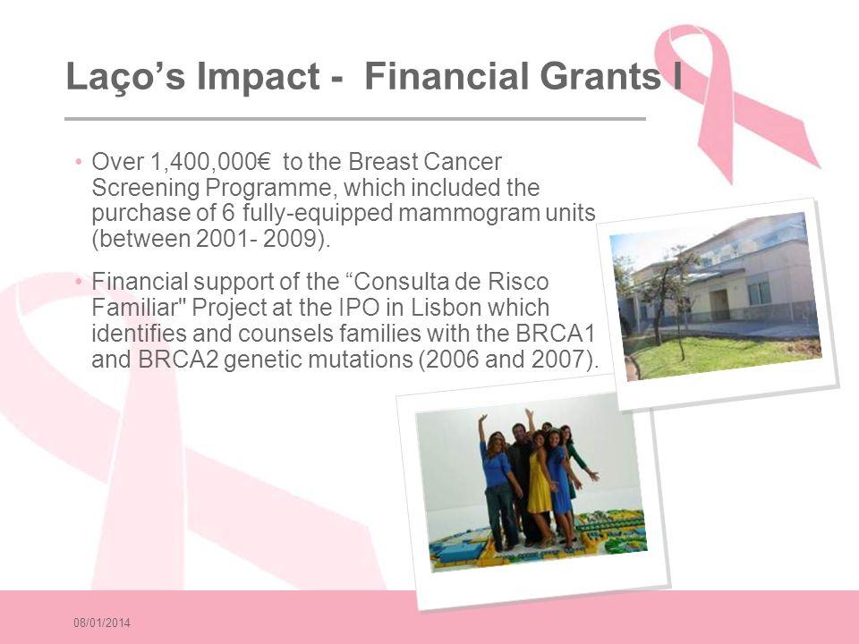 Laço's Impact - Financial Grants I