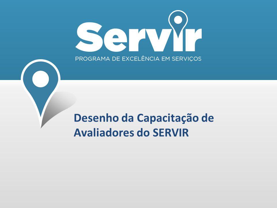 Desenho da Capacitação de Avaliadores do SERVIR