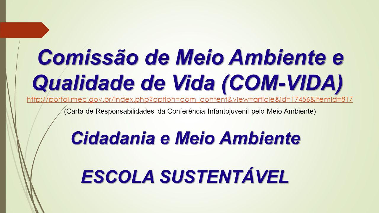 Comissão de Meio Ambiente e Qualidade de Vida (COM-VIDA)